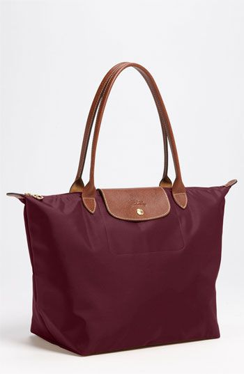 1)Longchamp 'Le Pliage - Large' Tote available at #Nordstrom $145 1. Gun Metal 2. Slate 3. Red
