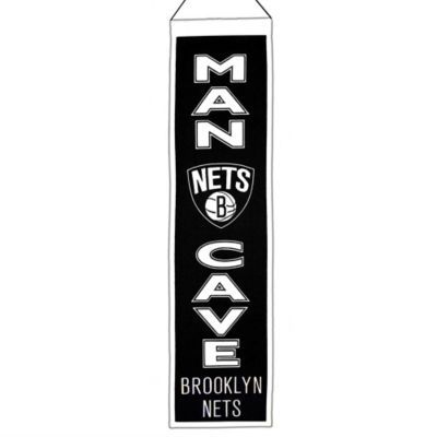 NBA Brooklyn Nets Man Cave Banner