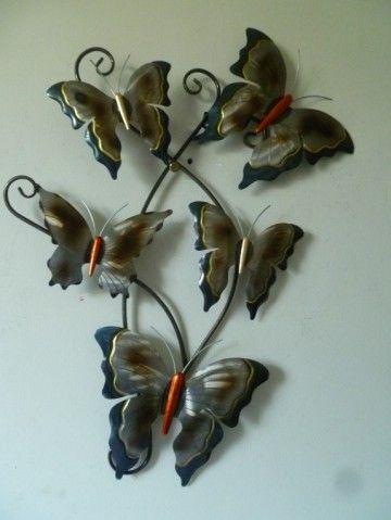 Pin Op Wanddecoratie Vlinders