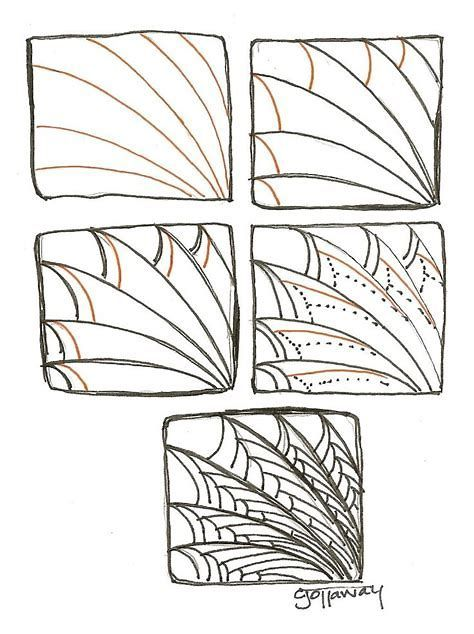Image Result For Easy Zentangle Patterns For Beginners Step By