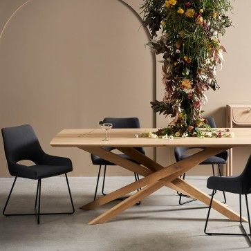 Ethnicraft Oak Mikado Dining Table Deco Ameublement Chene