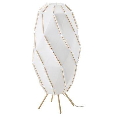 Ikea Tupplur Gray Blackout Roller Blind Stehlampe Weiss