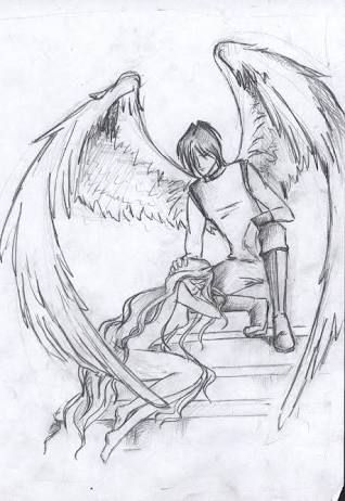 Resultado De Imagem Para Desenhos De Anjos Caidos Desenhos De