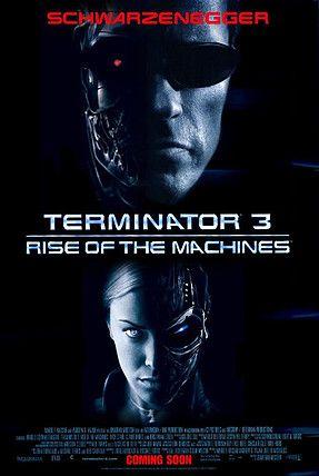 O Exterminador Do Futuro 3 A Rebeliao Das Maquinas Cartazes De