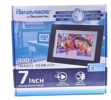 Pandigital Panimage Pi7002aw 7 Inch Analog Digital Picture Frame