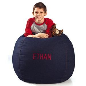 Prime Denim Beanbag Chair Lillian Vernon Personalized Gifts Caraccident5 Cool Chair Designs And Ideas Caraccident5Info