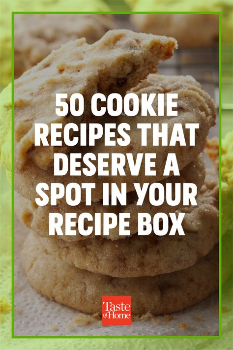 Our best cookie recipes have earned top ratings from home cooks far and wide. But before you get started, make sure you get all the handy tips and tricks from our cookie baking guide to ensure the cookies you bake come out a sweet success!