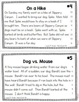Fluency Passages Reading Comprehension 2nd 3rd Grade ...