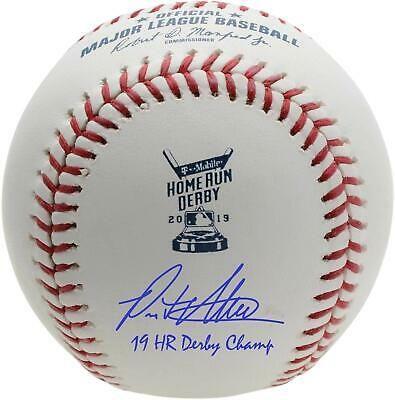 Autographed Pete Alonso Mets Baseball Fanatics Authentic Coa Item 9774648 Sportsmemorabilia Autograph Baseball Mets Baseball Baseball Online New York Mets
