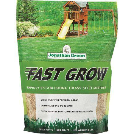 Fast Grow Grass Seed 3 Walmart Com Grass Seed Growing Grass Jonathan Green