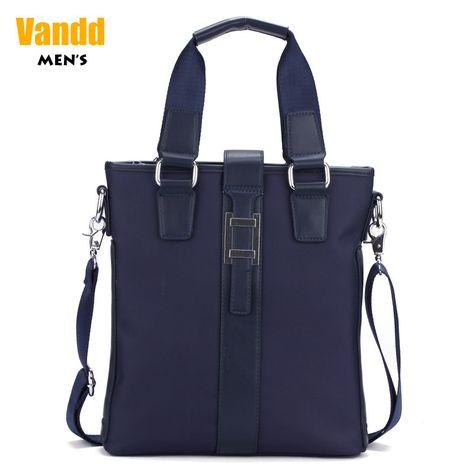 Aliexpress.com : Buy Vandd Men's New Nylon Blue Vertical ZipperTote Handbag Shoulder Messenger Bag Buckle Accent New Designer from Reliable man fashion bag suppliers on Vandd Men. $65.00