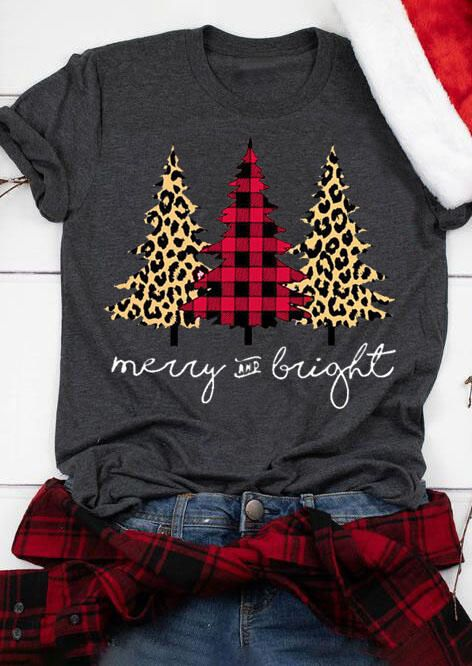Plaid Leopard Printed Christmas Tree Merry And Bright T-Shirt Tee - Gray the best Online Clothing Shopping Boutiques, get the latest fashion clothing online # Source by OOTDoutfitPost Look t-shirt Plaid Christmas, Christmas Shirts, Christmas Trees, Christmas Fashion, Christmas Crafts, Christmas Christmas, Christmas Outfits For Women, Soulful Christmas, Christmas T Shirt Design