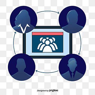 مشروع مؤتمر الفيديو عالية المستوى تعاون عالمي مؤتمر فيديو مدراء الشركات Png وملف Psd للتحميل مجانا Kids Rugs Kids Decor