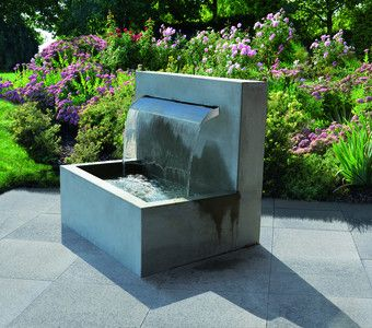 Haus Garten Brunnen Garten Wasserbrunnen Garten Wasserfall Brunnen