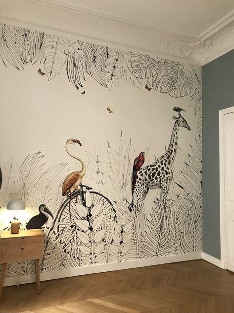 Beautiful Wallpaper Estellanyc Room Idea Art De Chambre D