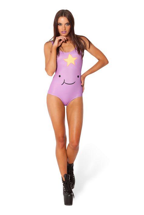 Lumpy Space Princess Smile Swimsuit | Lumpy space princess