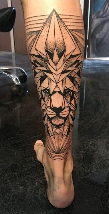 40 Tatuagens Masculinas Na Perna Tatuagem Masculina