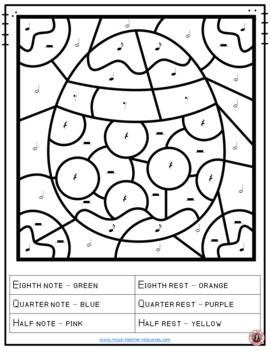 Music Lessons Easter Music 26 Easter Music Coloring Pages Musiceducation Music Coloring Music Coloring Sheets Music Lessons
