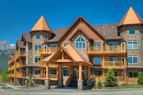 Lose yourself in the Canadian Rockies at the Stoneridge Mountain Resort, Canmore.
