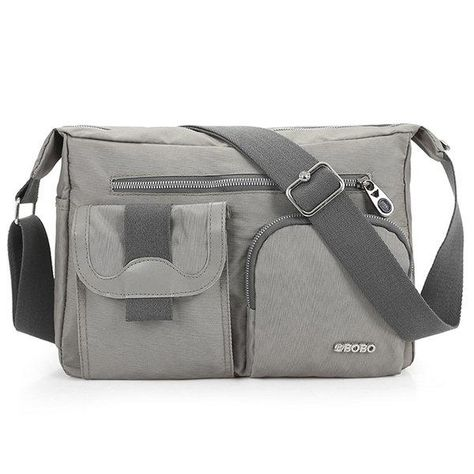b3172ae7b3 Men Women Multi-pocket Casual Shoulder Bags Crossbody Bags ...