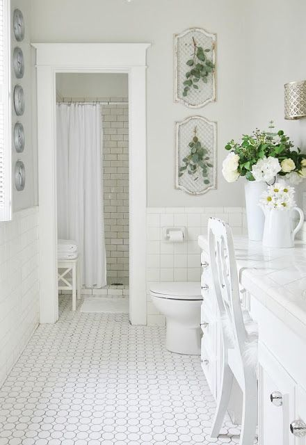 French Country Floral Friends French Country Bathroom Country
