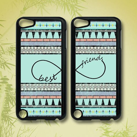 Hey, I found this really awesome Etsy listing at http://www.etsy.com/listing/130559440/aztec-best-friends-ipod-5-case-ipod-4