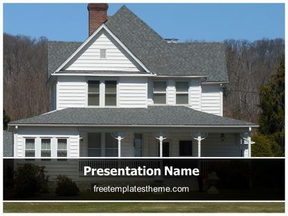 16 best free real estate powerpoint ppt templates images on download free real estate home powerpoint template for your toneelgroepblik Images