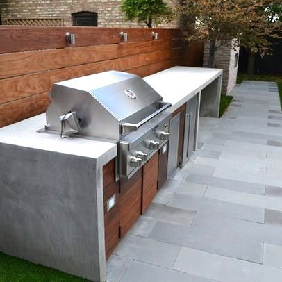 Built In Bbq Grill Ideas Backyard