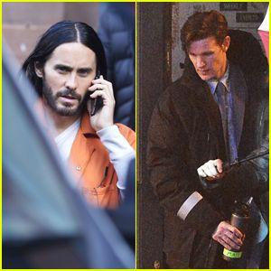 Matt Smith Morbius >> Jared Leto Matt Smith Film Morbius Scenes In Manchester