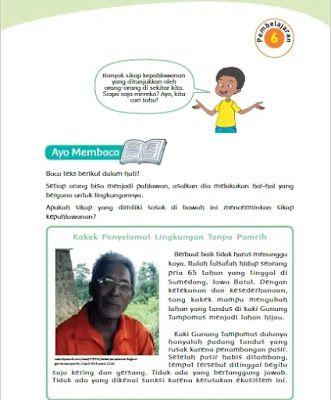 Kunci Jawaban Buku Siswa Tema 5 Kelas 4 Halaman 132 133 134 135 Buku Kunci Berkelas