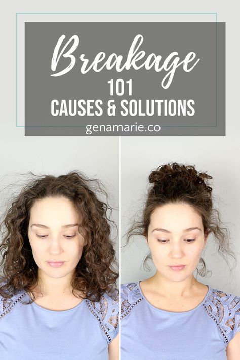 Breakage 101 – Causes & Solutions for Breakage in Curls