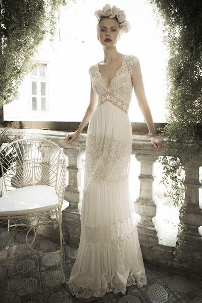 Beautiful Vintage Beach Wedding Dress Photos - Styles & Ideas 2018 ...