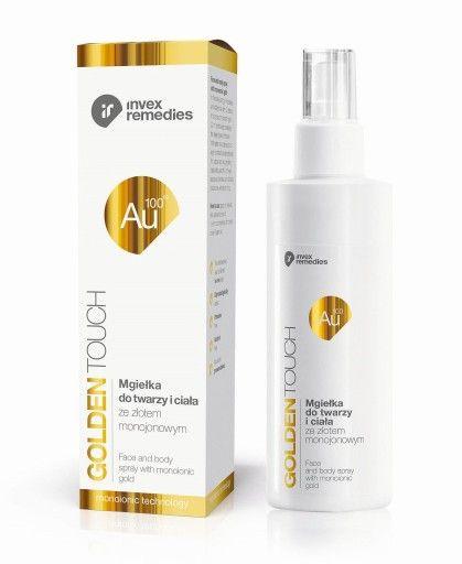 Zloto Monoatomowe Mgielka Do Twarzy 200ml Invex Homemade Acne Treatment Facial Treatment Acne Treatment
