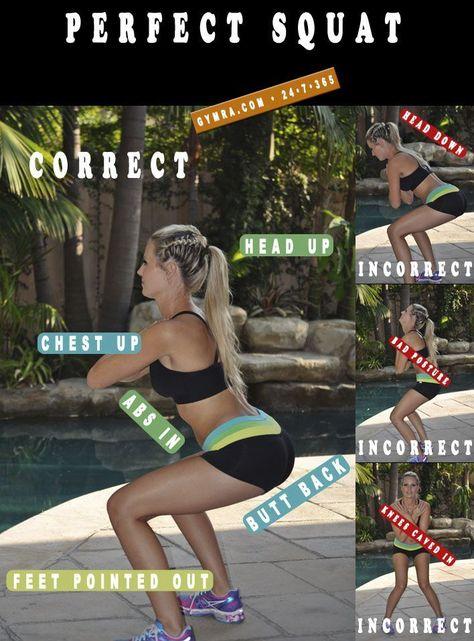 Perfect Squat Technique. Bootea Teatox - The teatox for weightloss www.bootea.com @booteauk #booteafitness #bootea