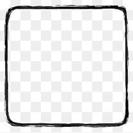 La Simplicite De La Bordure Frontiere Bordure Simple Facile Fichier Png Et Psd Pour Le Telechargement Libre Original Iphone Wallpaper Black Square Text Frame