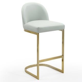 Awesome Silver Orchid Boardman Pu Leather Bar Stool Counter Stool Short Links Chair Design For Home Short Linksinfo