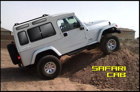 Lj Jeep Hardtop Btw The Safari Cab Roof Is About 1 2 Higher Jeep Wrangler Accessories Jeep Dream Cars Jeep
