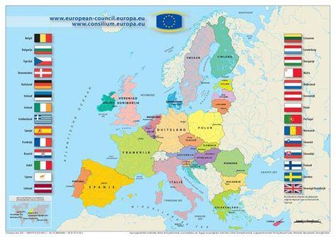 Eu Landen Reizen Door Europa Aardrijkskunde Reizen