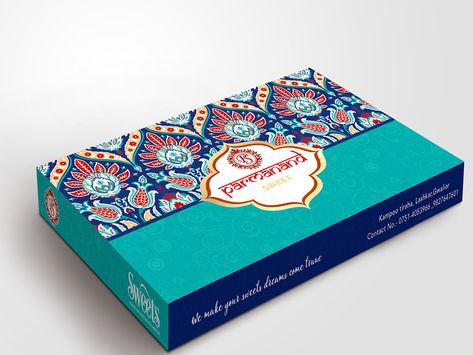 Mithai box packaging design   chikki  lohri   gachak   on Behance