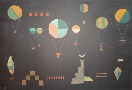 Wassily Kandinsky-Plat Profond-Poster