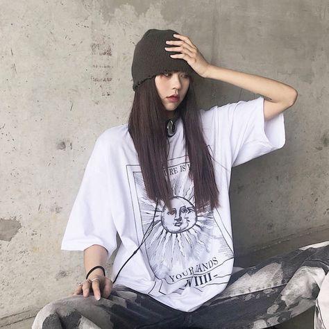 Future XVIIII Tarot Card Sun T-Shirt White One Size