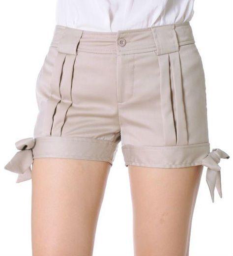 Modelos Short De Vestir Pantalones Cortos De Mujer Short