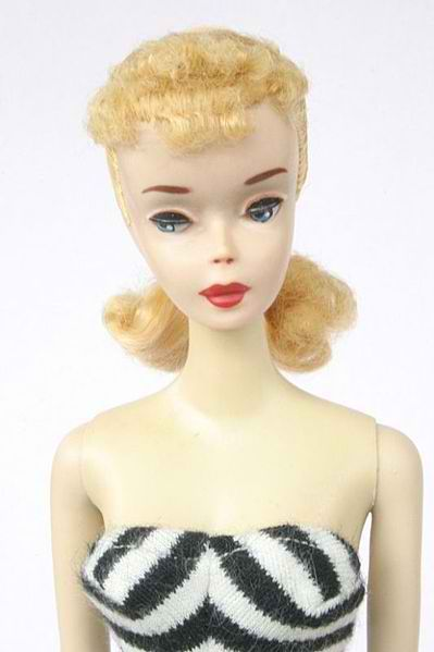 My first Barbie was like this, only with red hair.