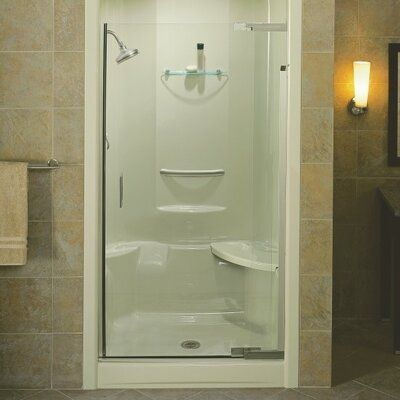 Kohler Purist 39 W X 72 H Pivot Semi Frameless Shower Door With