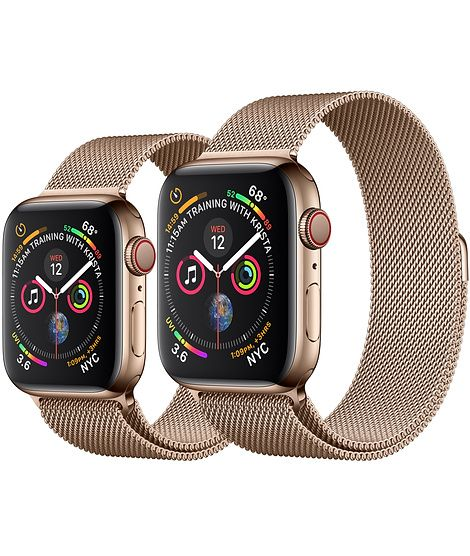 Apple Watch Gold Stainless Steel Case With Gold Milanese Loop Apple Buy Apple Watch Apple Watch Gold Apple Watch
