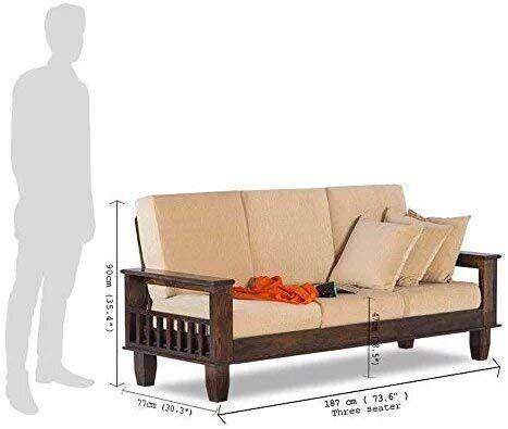 Indigo Interiors Sheesham Wood Jodhpur Sofa 3 Seater Set Https Www Amazon In Dp B07t9wlr3g Ref Cm Sw R Pi Aw Sofa De Madeira Moveis De Madeira De Madeira