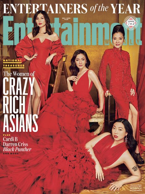 Entertainment Weekly  ||  Introducing our 2018 Entertainers of the Year 🙌🏽 The women of Crazy Rich Asians and Black Panther, Cardi B, Darren Criss, and more are this year's entertainment MVPs. 📷: 'Crazy Rich Asians' and Darren... http://entertainmentweekly.tumblr.com/post/180623555342/introducing-our-2018-entertainers-of-the-year#_=_