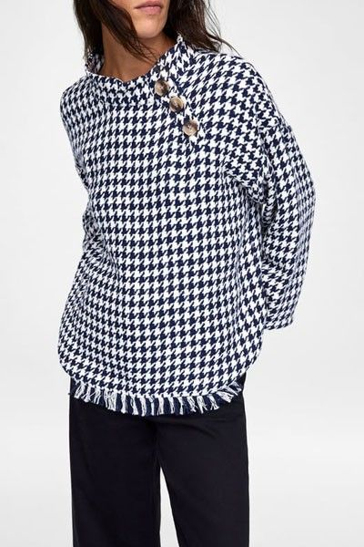 27 Houndstooth Pieces To Buy Now