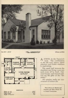 Book Of Home Designs Vintage House Plans Spanish Style Homes Bungalow Floor Plans