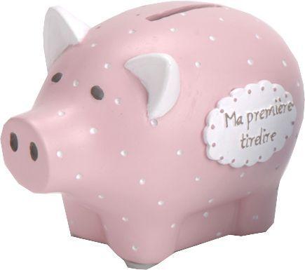 Baby Piggy Bank Tirelire en c/éramique pour b/éb/é Motif Cochon Rose